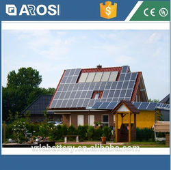 2016 hot sale Arosi 2kw solar energy system solar power motorcycle