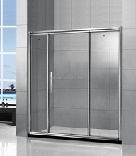 easy sliding 6mm tempered glass barato puertas cabina de ducha