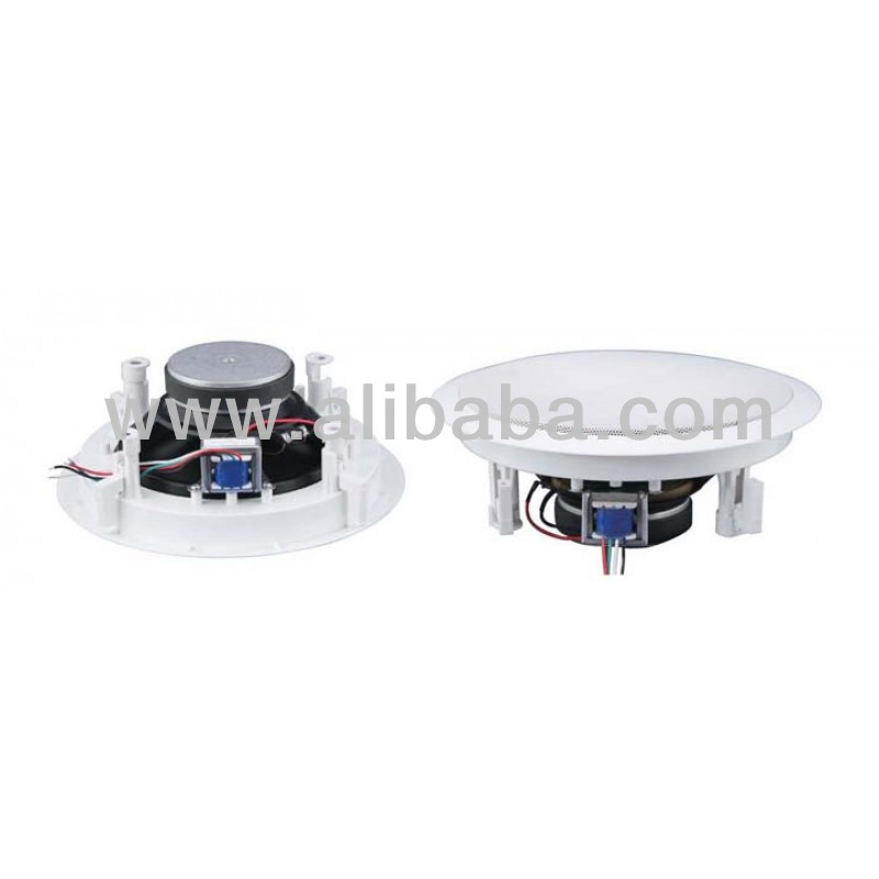 PAC064 White Ceiling Speaker with line transformer