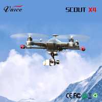 2016 2.4G 4 channel 4 axis cx 20 drone gps walkera scout x4 professional flying toys for adults