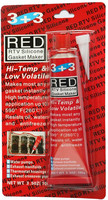 3+3 RTV Silicone Gasket Maker Automobile Adhesives Red