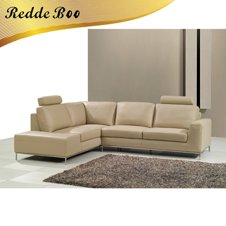 Prices Italy L Shape Leather Sofa With Headrest