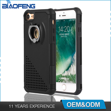 Shockproof Hidden Ring Kickstand Luxury Tpu Pc Smartphone Accessories Oem Phone Case Mobile Back Cover For Iphone 7