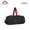 Personalized Fashion Design Large Capacity Black Nylon Travel Bags for Men