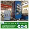 Large Type Rubber Compression Molding Machine / rubber moulding press