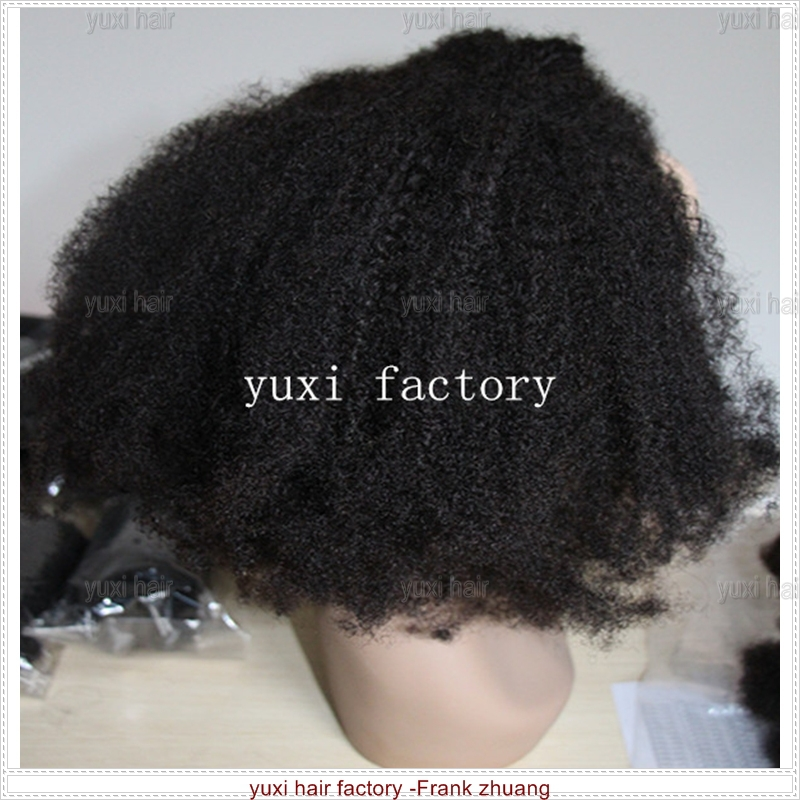 tangle free no shedding soft kinky curly wig for black women