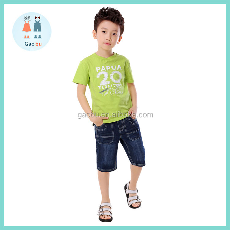 Children Boys Clothes Sets T-Shirt and Shorts Clothing Sets Chidlren Boy Summer Wear Sets