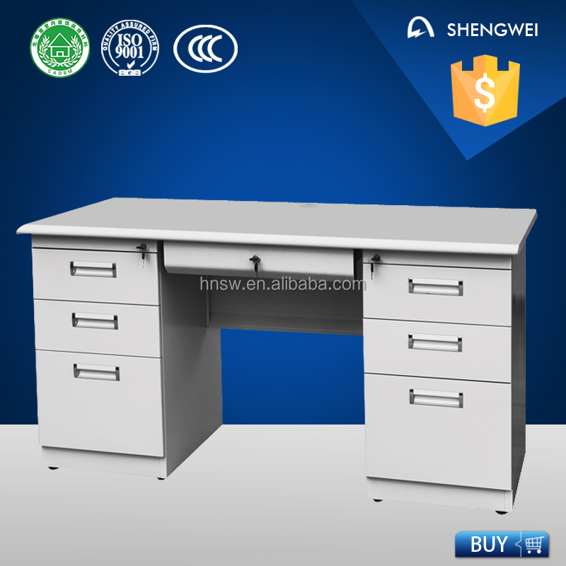 stainless steel office furniture standing desk