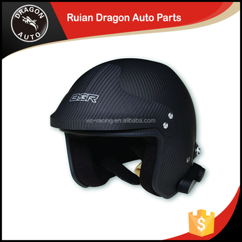 Hot-Selling High Quality Low Price safety helmet / racing helmet (Inferior smooth carbon fiber)