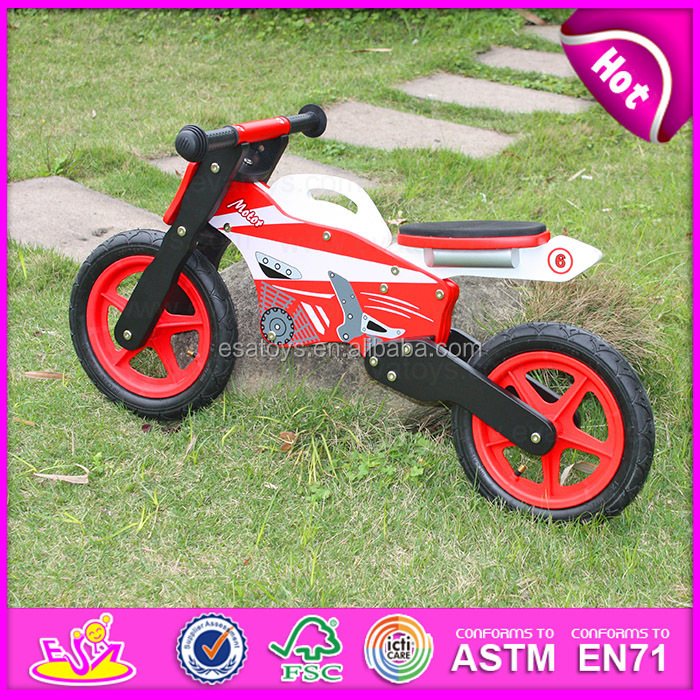 2016 wholesale high quality wooden kids motorcycles for sale W16C076-J26