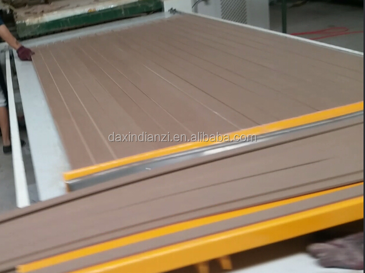 Finger joined wood boards machine with High frequency generator