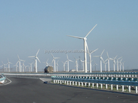 Wind Electricity Power Generation Transmission Galvanized Steel Poles
