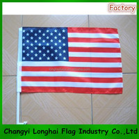 Country American Car Flag
