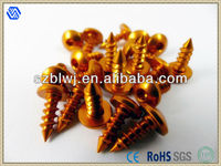 Aluminum Socket Head Cap Screws Color Screws For Orange