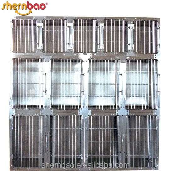 Shernbao KA-509 Modular Kennel Cage for Pets, 11-Unit