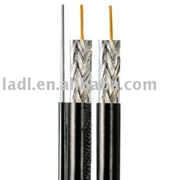 RG11 Coaxial cable with messenger (Coax Cable RG11,RG11 Cable,RG11) used for TV networks