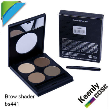 Eyebrows powder 4 color with Highlighter and brush offer customzing for private labelling