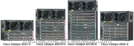 Cisco Catalyst 4500E Series 10 Gigabit Ethernet Fiber Line Card new original WS-C4506-E Cisco switches