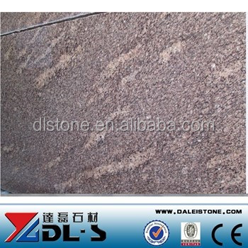 Brazilian Giallo California Granite Slabs Colors