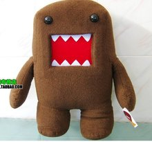 New DOLL Lovely Design Plush Toys Domo Kun Stuffed Animal Plush Doll 20' or 50cm Hot Sale Factory Sale Cheap Free Shipping