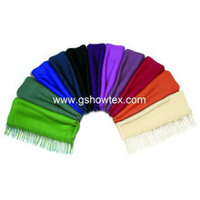 Hot selling plain viscose pashmina shawl