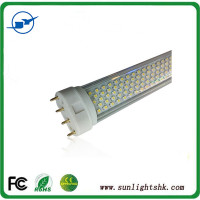 2G11 LED tube 12W 2G11 PLL led lamp 85-265V Ra80 3 years warranty 2G11 led