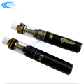 High quality free logo custom vape pen glass ecig atomizer Glass Ecig Tank
