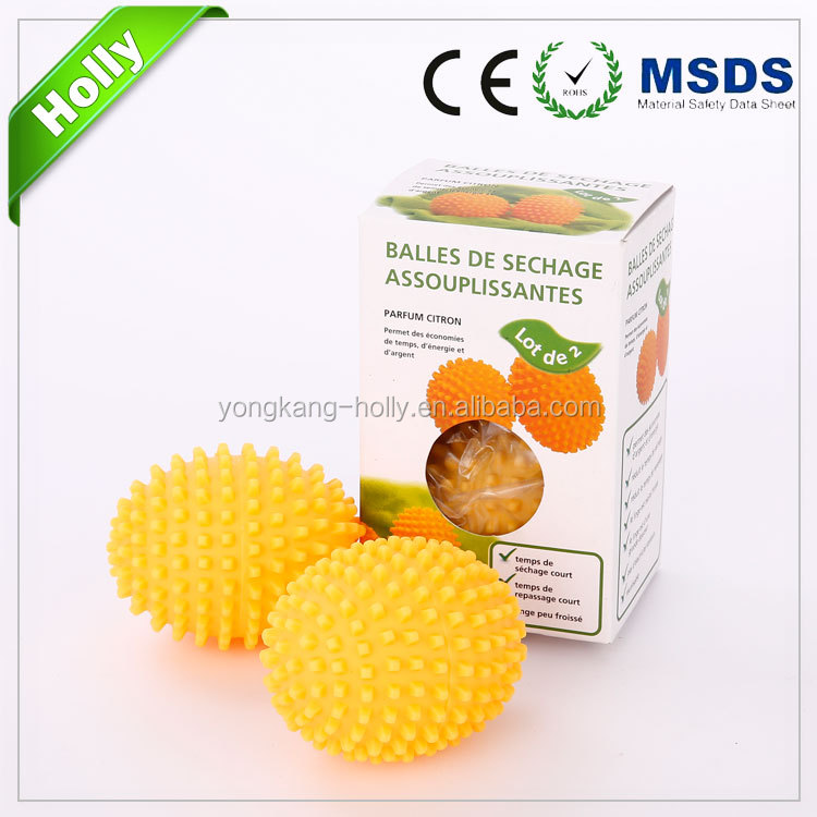 re-usable & eco friendly 2pcs dryer balls
