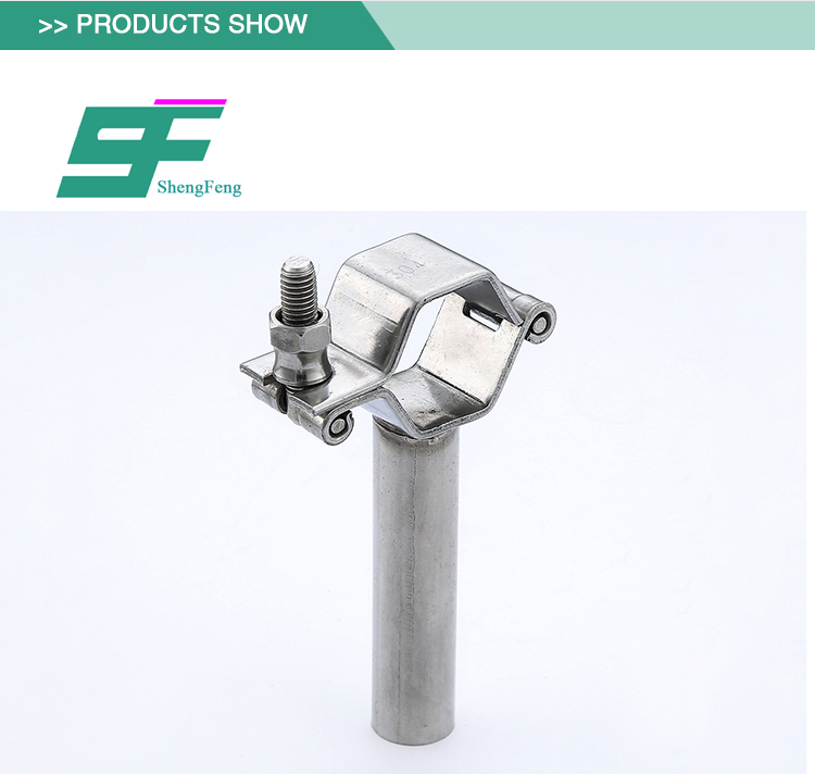 Durable excellent performance stainless steel standard sanitary pipe holder