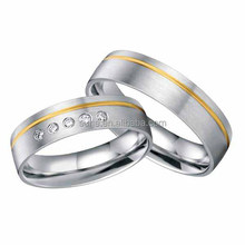king and queen ring jewelry surgical stainless steel gold wedding rings for couples