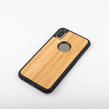 New Arrival Hard Wood Case For iphone 8 X Bamboo Wood mobile phone case For Apple iPhone 8 X Case Cover