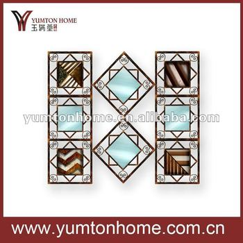 Metal Wall Art Mirrors for home decoration