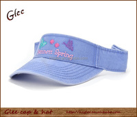 Logo Customized Cotton Sports Sun Visor hat