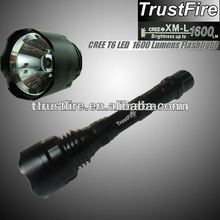 TrustFire TR-T1 led flashlight with cree xm-l t6 1600lumen led bulb lantern for camping