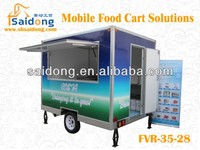 multifunctional BBQ Food Van/FOOD KIOSK