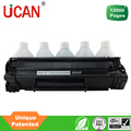 UCAN 35a/85a CTSC reusable toner cartridge for hp1102 printer, 78a continous toner supply cartridge for Canon CRG-126/326/726