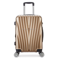 "ABS+PC case 20"" size travel luggage bags"