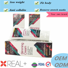 2016 most advanced fast slimming product REAL PLUS anti cellulite gel