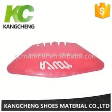 Cheap price shoe uppers with anli pu upper-binding machine upper materials fabric insertion rubber sheet Quality Assurance