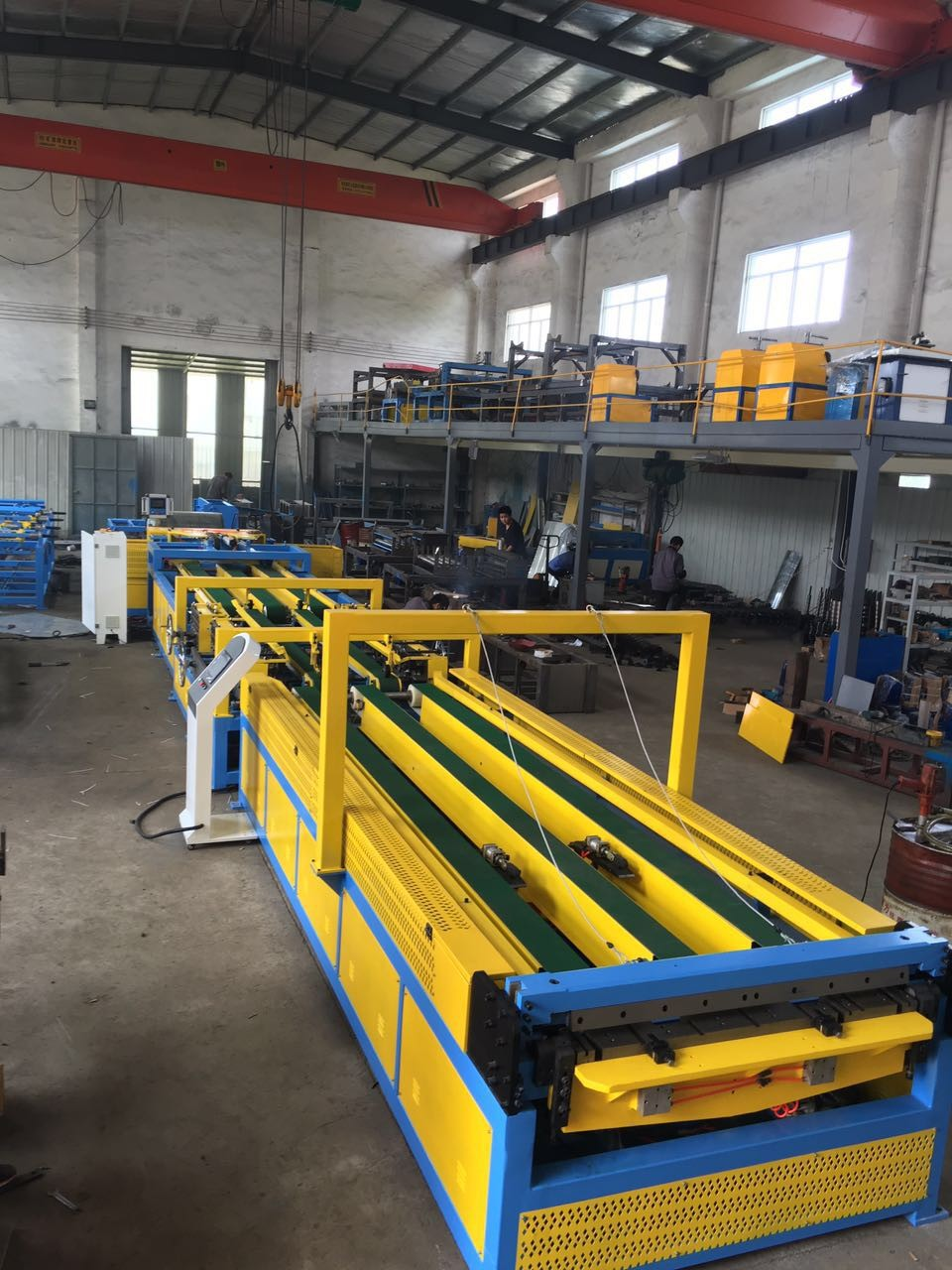 Auto Duct line 3 with TDF and flange machine