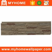 Factory price light weight cheap decorative brick wall panel PU faux tile wall panel