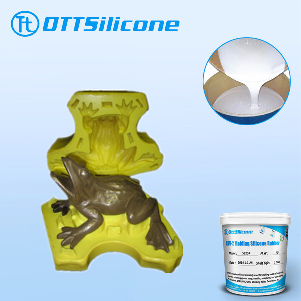 factory export RTV2 liquid silicone rubber for product reproduction, RTV silicone raw material