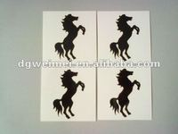 adults tribal black horse tattoo for distributors