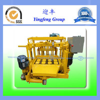 QMY4-30 concrete block machine used with excellent and reliable performance
