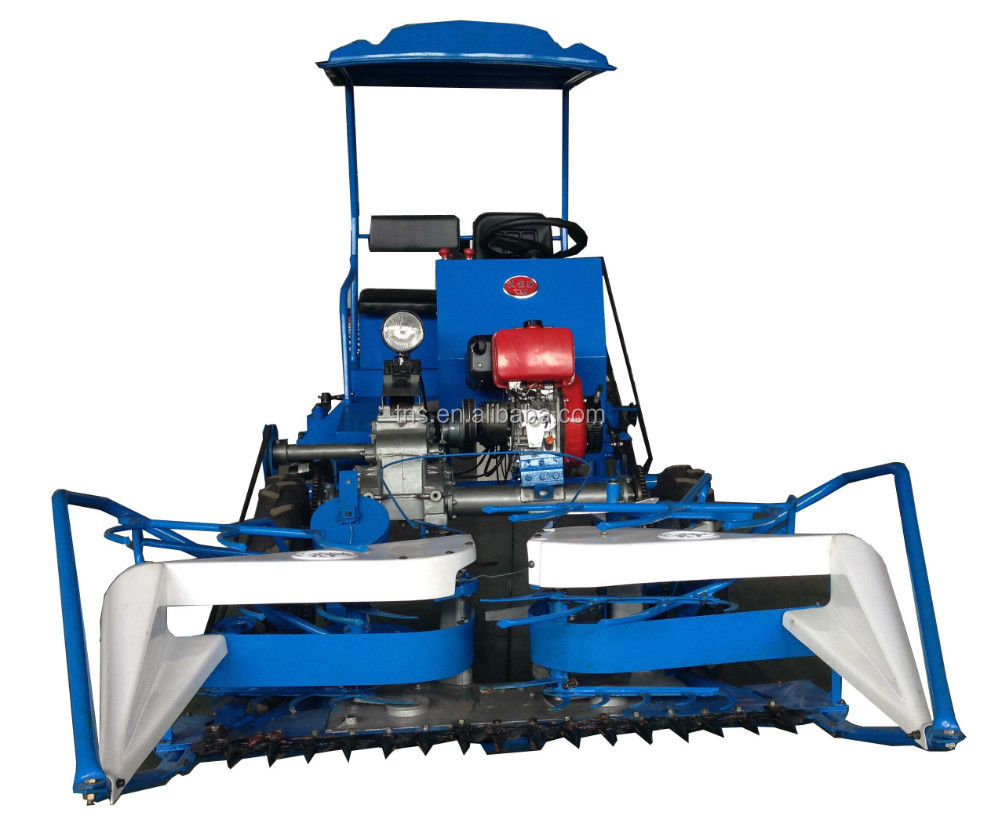hot selling wheat cutter mini harvester four wheel driving