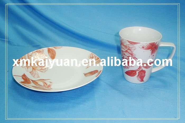 ceramic tea set/tea cup and saucer (113-094)