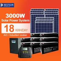 power saving portable hybrid solar system with air conditioner with excellent quality from China 3000W/24000BTU