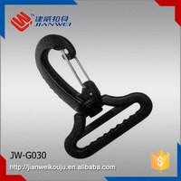 Factory wholesale palstic swivel snap belt hook, plastic bag sanp hanger JW-G030