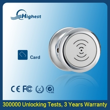 New Premium Bravo High Class Mini Double Door Nfc Cabinet Lock, Electro mechanical Sensor Cabin Locker Lock Manufacturer