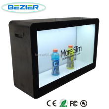 22' transparent LCD advertising display/ transparent LCD/ transparent monitor